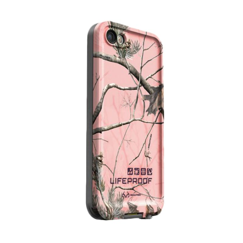 Lifeproof Fre Pink Realtree Casing for Iphone 5 or 5S