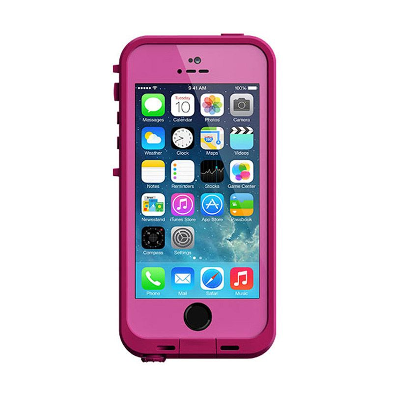 LifeProof Fre Dark Magenta Magenta Casing for iPhone 5S