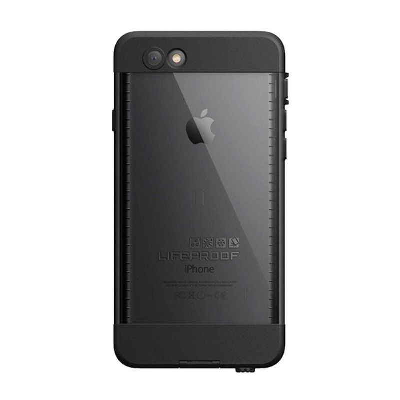 LifeProof Nuud Black APAC Casing for iPhone 6