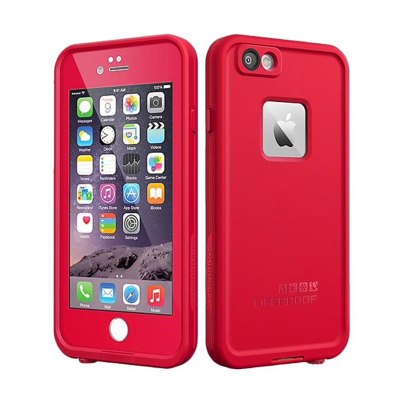 Lifeproof Red Iphone 4 or 4S