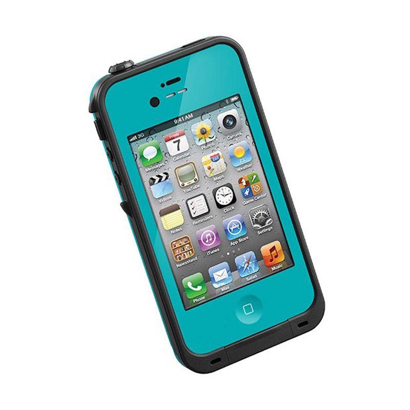LifeProof EN Teal Black Casing for iPhone 4S or 4
