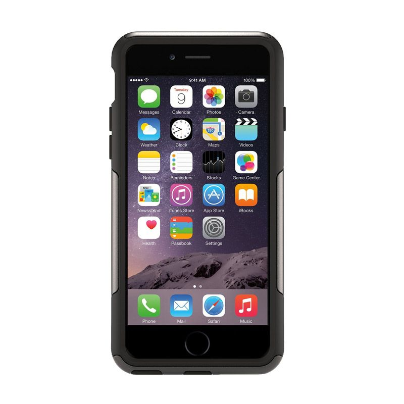 OtterBox Commuter Series Black Casing for iPhone 6 Plus