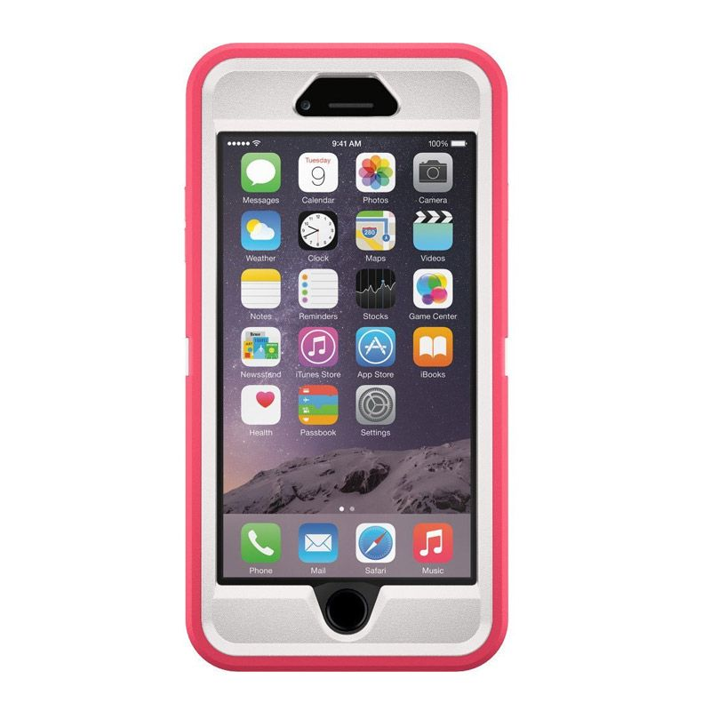 OtterBox Defender Series Neon Rose Casing for iPhone 6 Plus