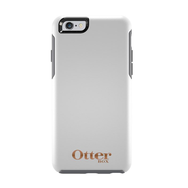 Otterbox Simmetry Limited Edition Glacier with Rose Logo Casing for iPhone 6