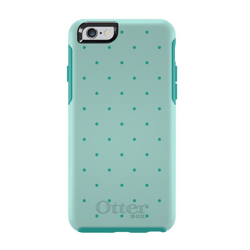 OtterBox Simmetry Series Aqua Dot Casing for iPhone 6