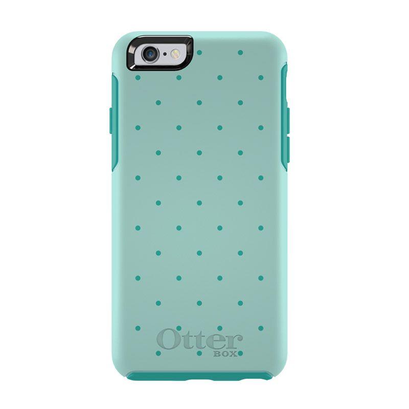 harga OtterBox Simmetry Series Aqua Dot Casing for iPhone 6 Blibli.com