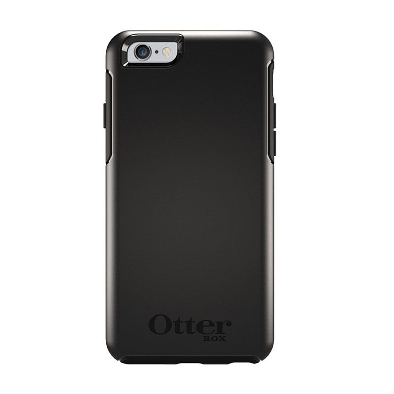 OtterBox Simmetry Series Black Casing for iPhone 6 Plus