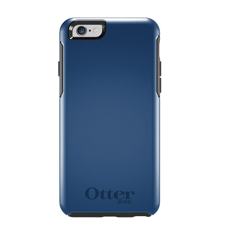 OtterBox Simmetry Series Blue Print Casing for iPhone 6