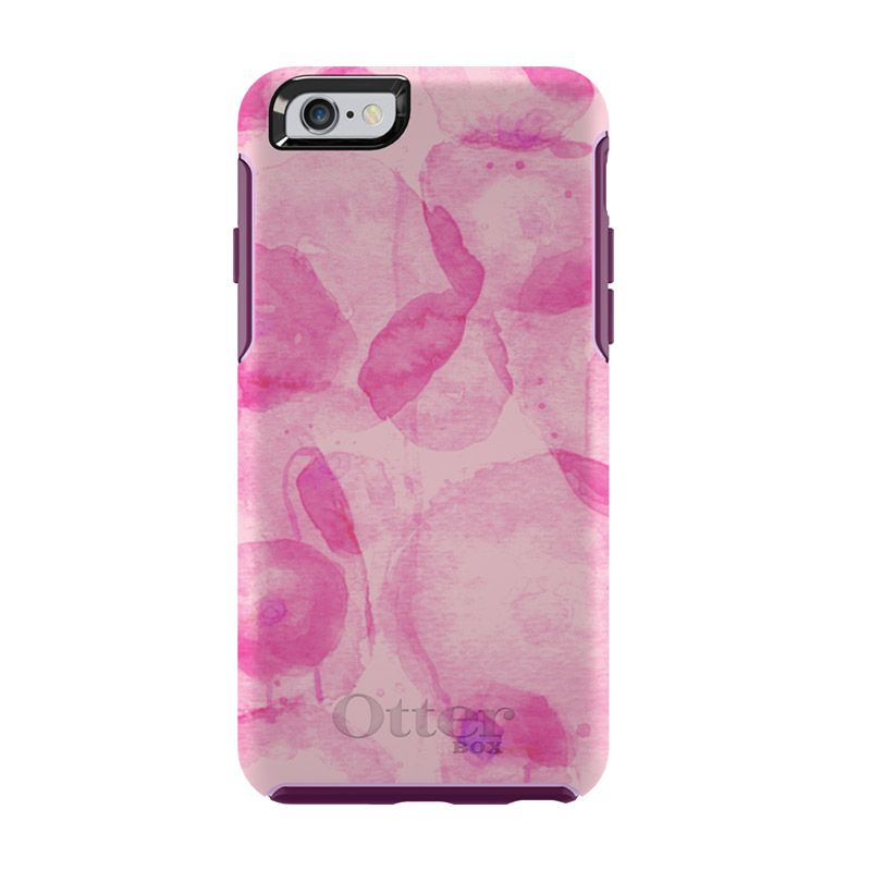 OtterBox Simmetry Series Poppy Petal Casing for iPhone 6