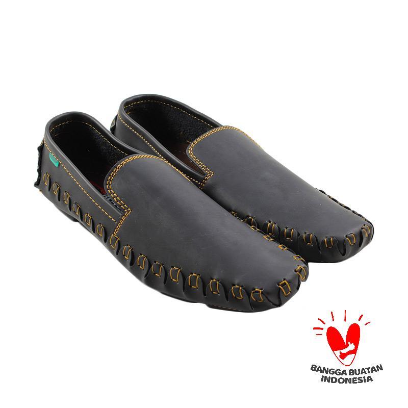 Jual Black Master Zara Slip On Sepatu Pria