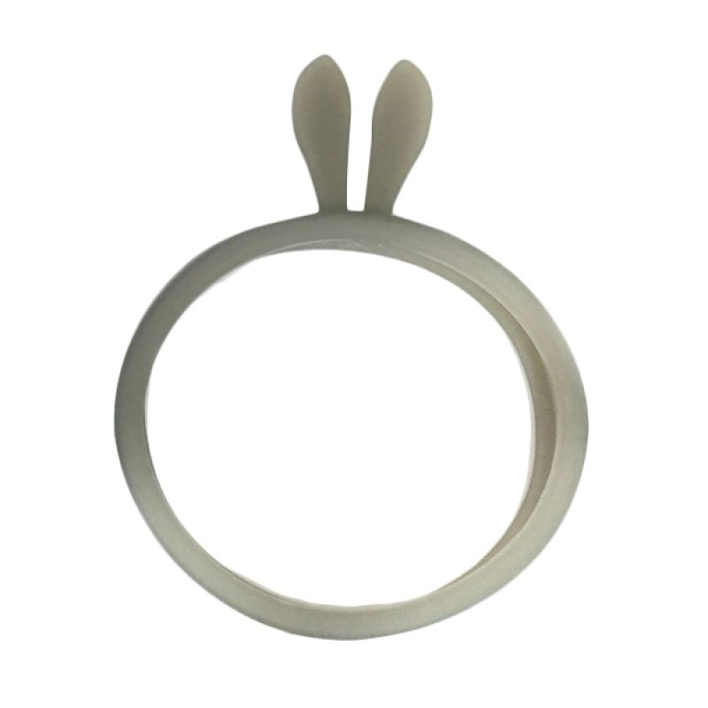 G-Smart Universal Rubber Ring Bunny Ear Black Bumper for Smartphone [Beli 1 Gratis 1]