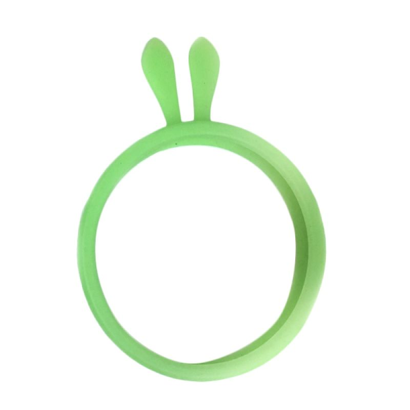 G-Smart Universal Rubber Ring Bunny Ear Green Bumper for Smartphone [Beli 1 Gratis 1]