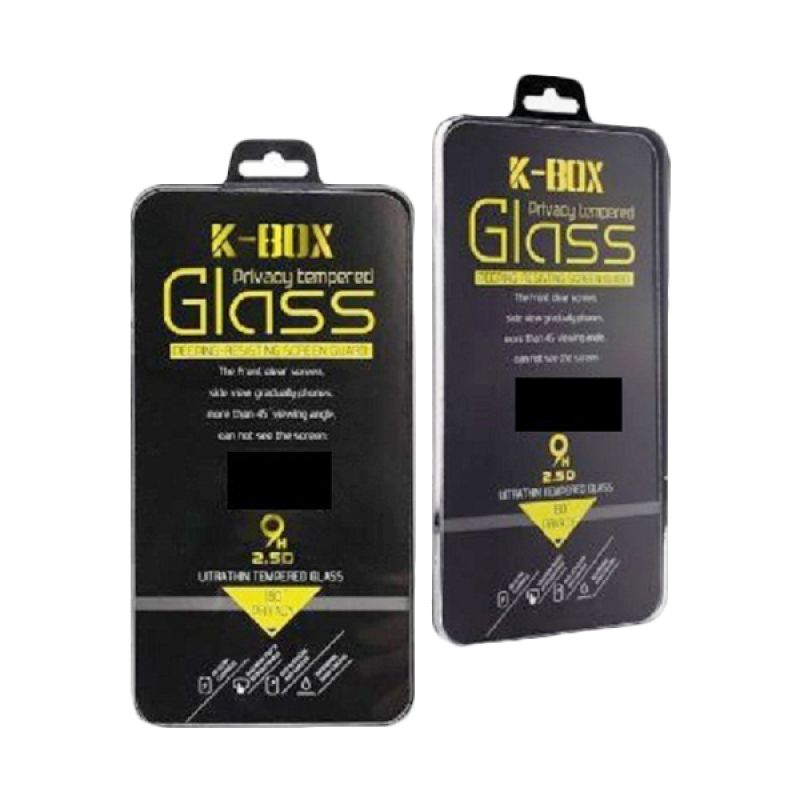 K-Box Premium Tempered Glass Gold Skin Protector for Iphone 5