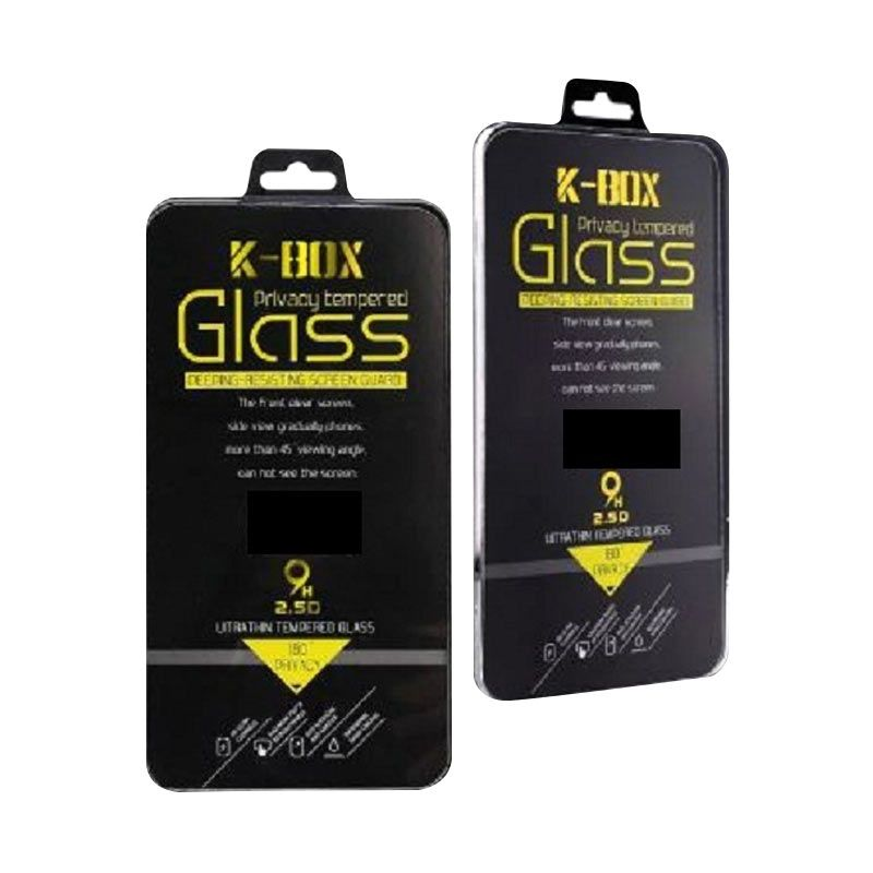 K-BOX Premium Tempered Glass Screen Protector for iPhone 5