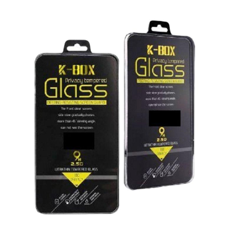 K-Box Premium 3D Diamond Gold Tempered Glass Skin Protector for iPhone 6 [Depan Belakang]
