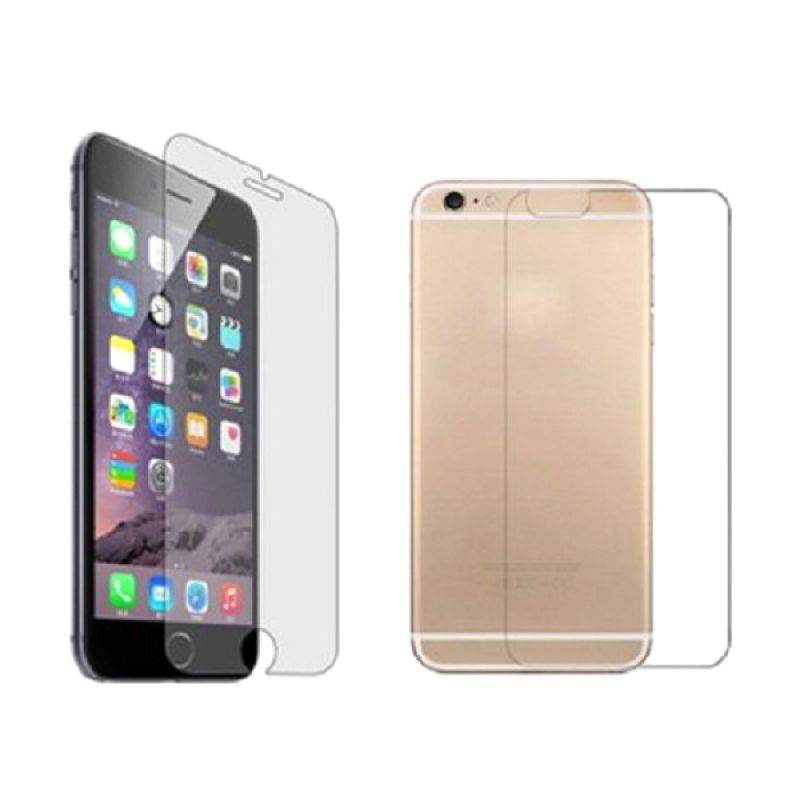 K-box Full Colour Mirror Tempered Glass Screen Protector for iPhone 6 [Depan Belakang]