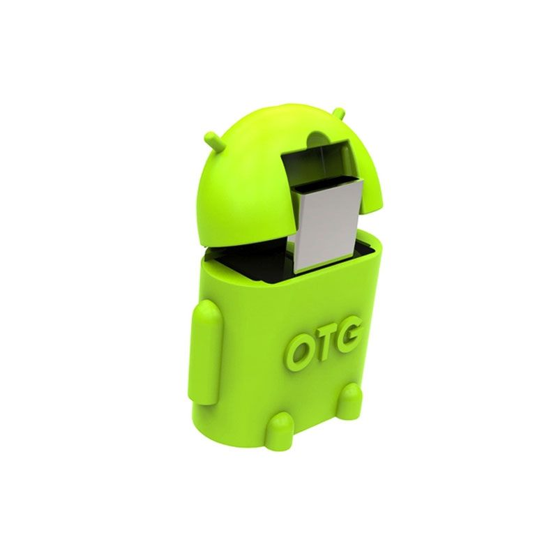 OTG Android Green USB Adapter