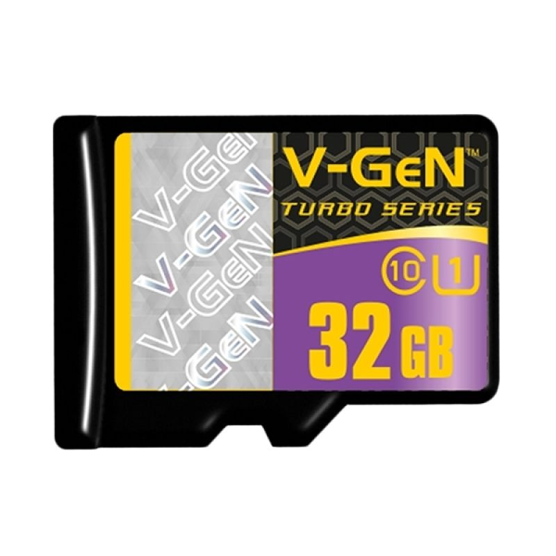 V-GEN Micro SDHC 32GB Turbo Class 10