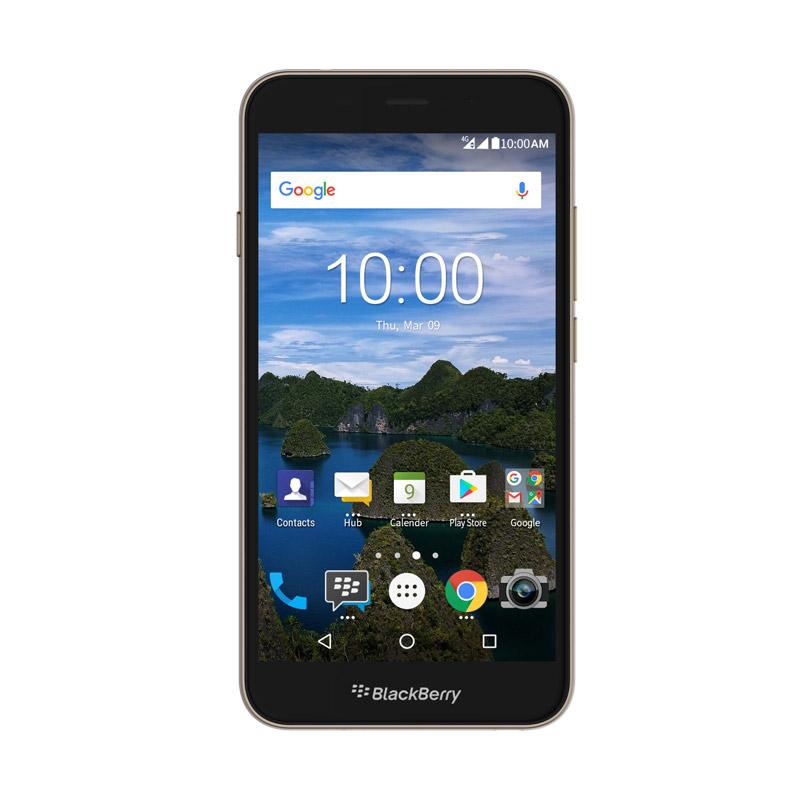 Blackberry Aurora Smartphone - Gold [32GB/4GB] + JBL Go + Smartcase