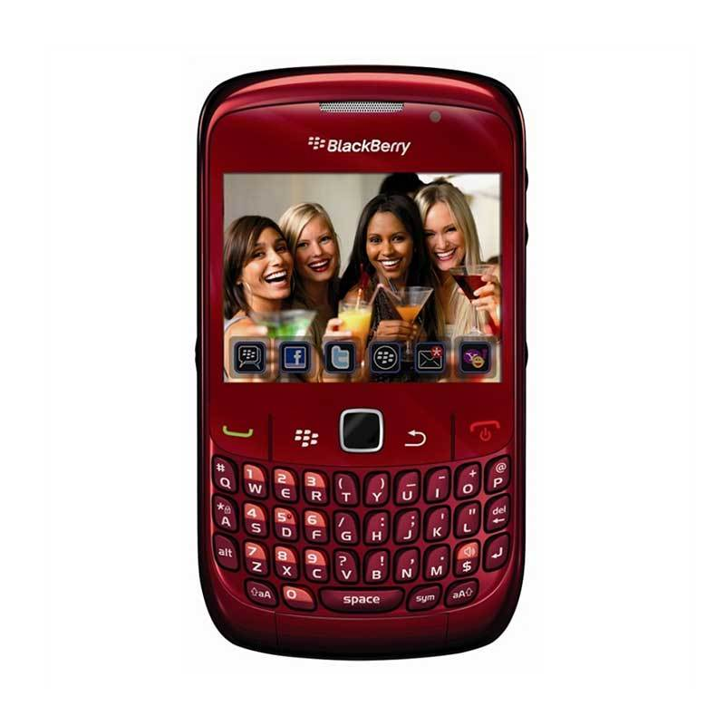 Blackberry Curve 8530 CDMA Smartphone - Red