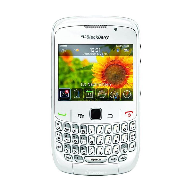 harga BlackBerry Gemini 8520 Smartphone - White Blibli.com