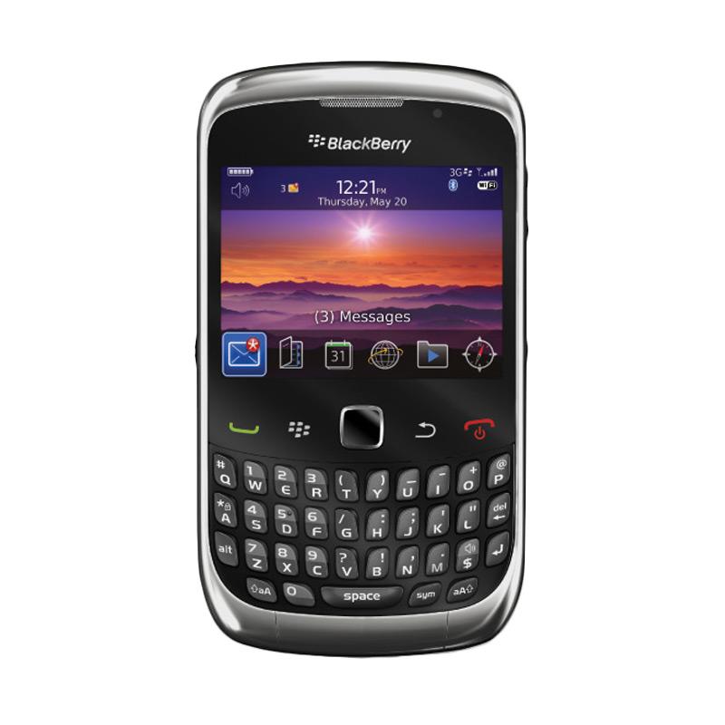Blackberry Keppler 9300 Smartphone - Hitam