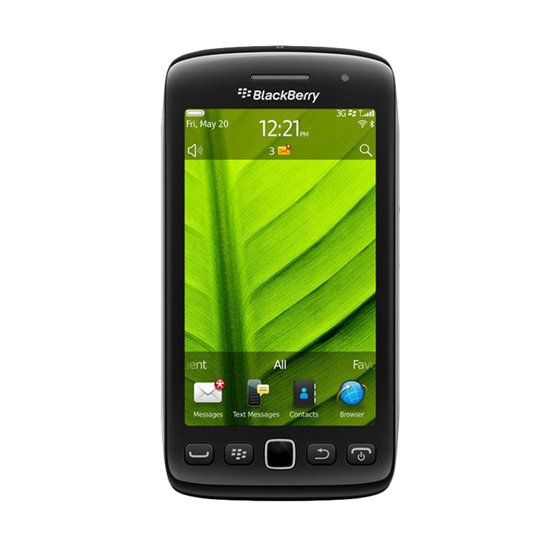 Blackberry Monza 9860 Hitam Smartphone