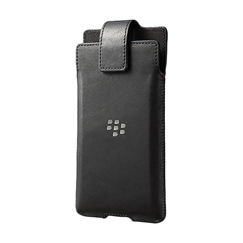 BlackBerry Original Leather Swivel Holster Black Casing for BlackBerry Priv