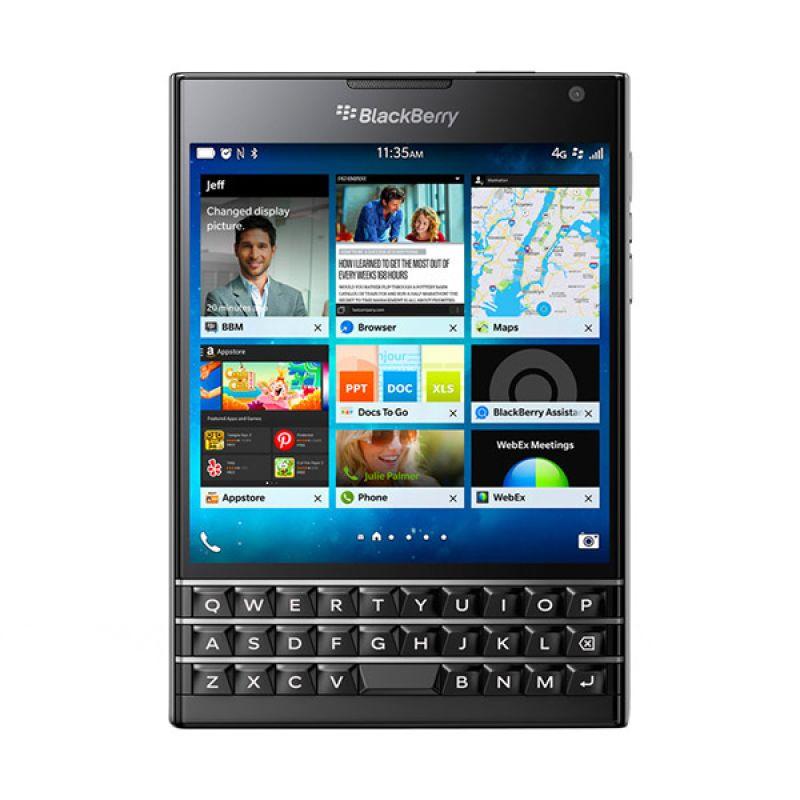 BlackBerry Passport Black Smartphone