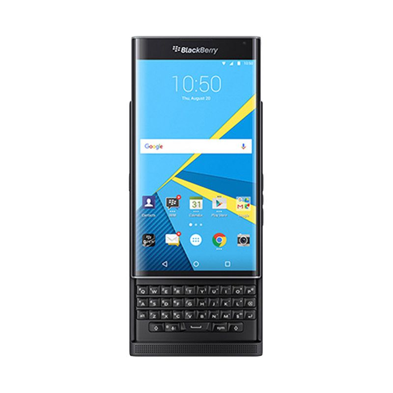 BlackBerry Priv Smartphone - Black [32GB/ 3GB/ Garansi Distributor]