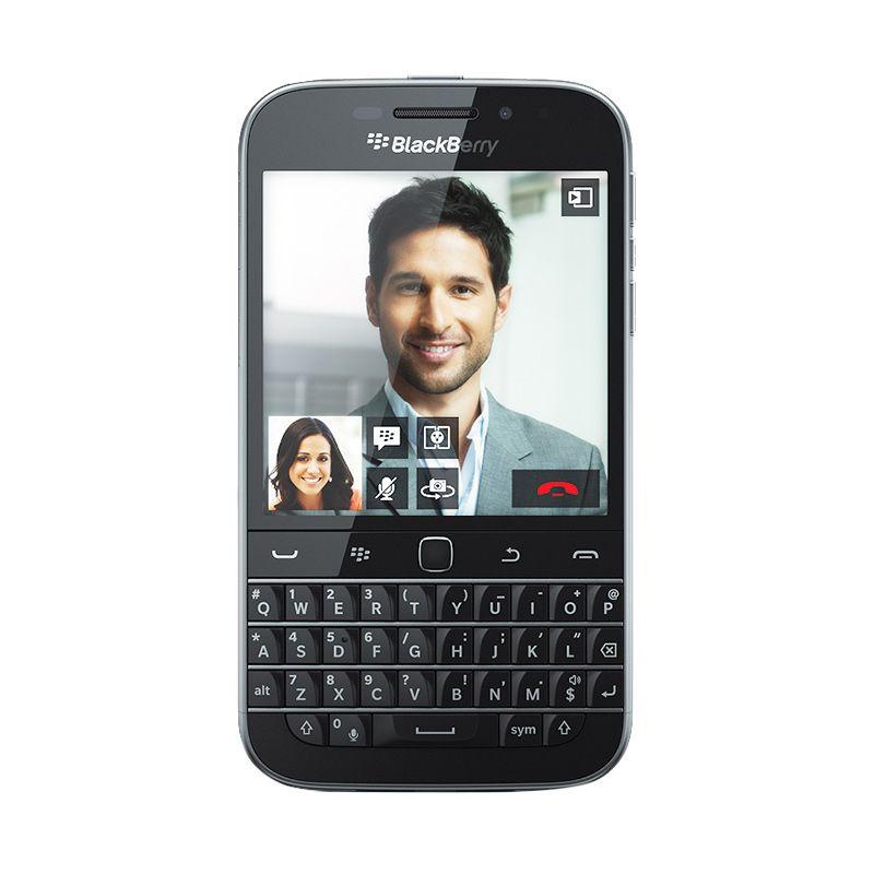 harga BlackBerry Q20 Classic Smartphone - Hitam [Garansi Distributor] Blibli.com
