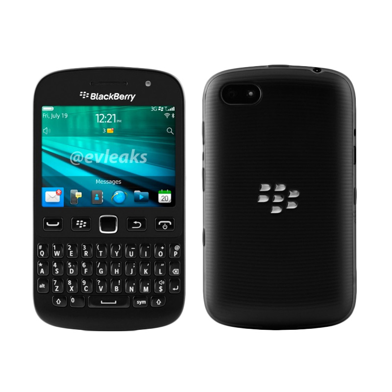BlackBerry Samoa 9720 Smartphone - Black