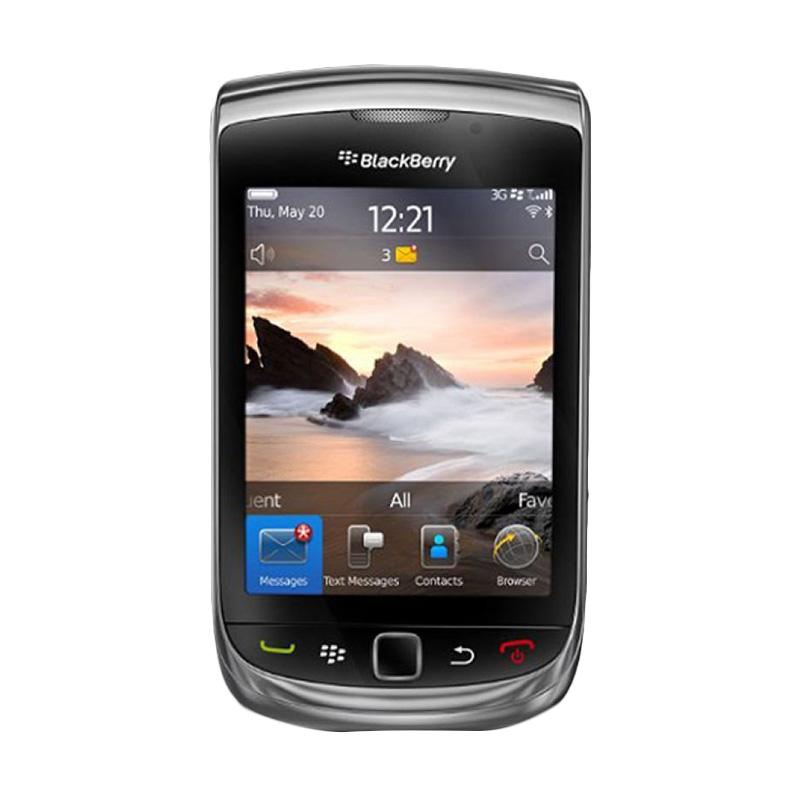 BlackBerry Torch 9800 Smartphone - Hitam