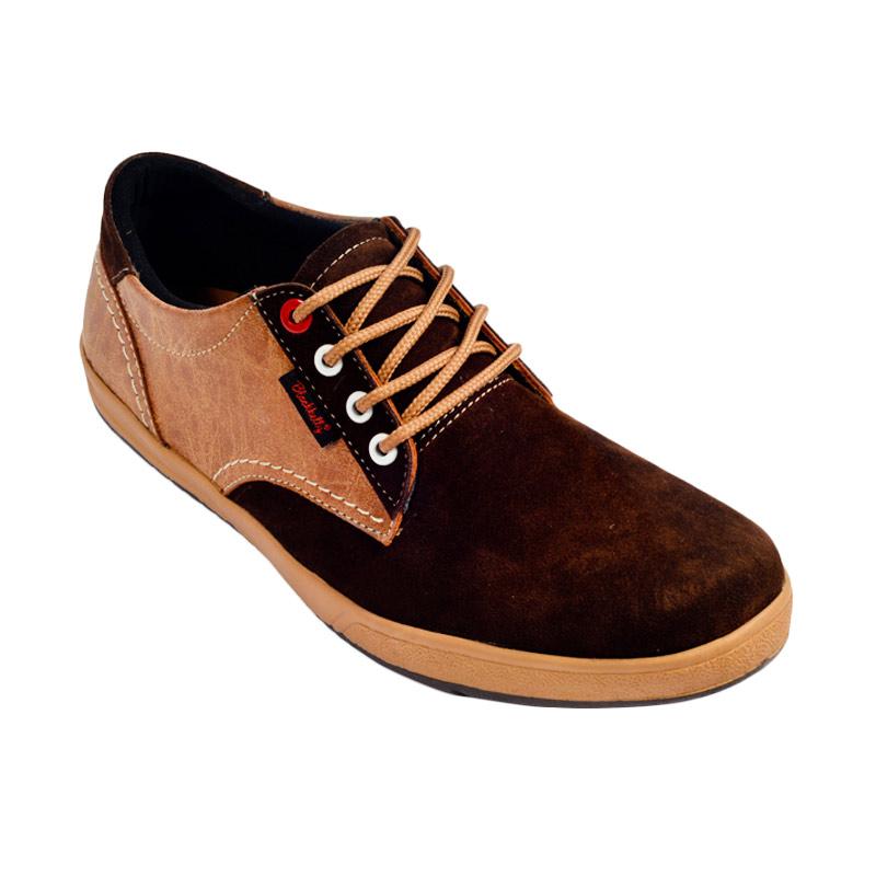 Blackkelly LSM360 Casual Bourne Sepatu Pria - Brown