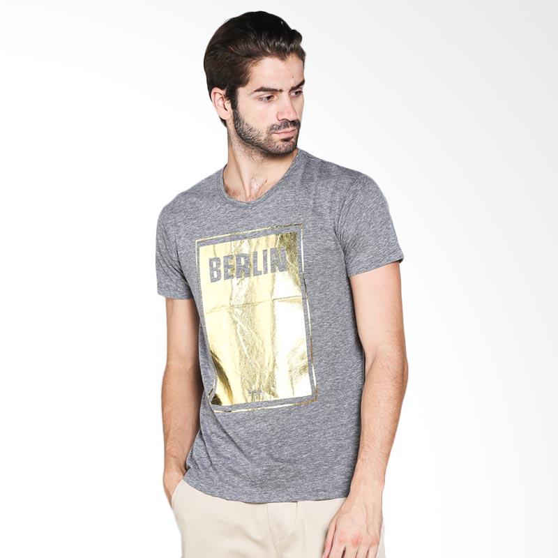 Blackgold T-shirt Berlin TS-45 Atasan Pria - Light Grey Extra diskon 7% setiap hari Extra diskon 5% setiap hari Citibank – lebih hemat 10%