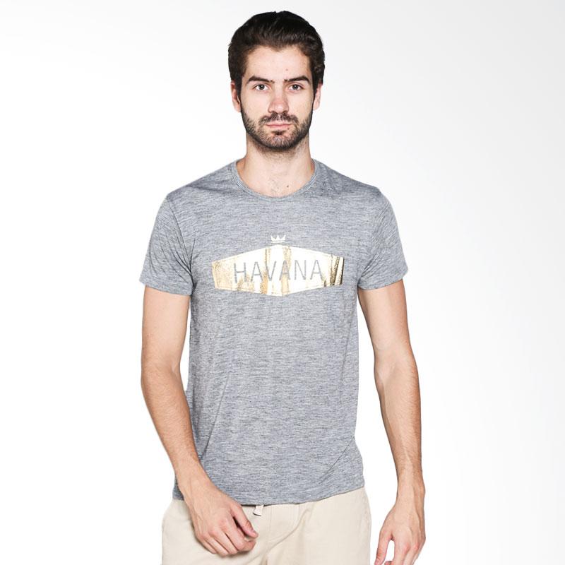 Blackgold T-shirt Havana TS-25 Atasan Pria - Light Grey Extra diskon 7% setiap hari Extra diskon 5% setiap hari Citibank – lebih hemat 10%