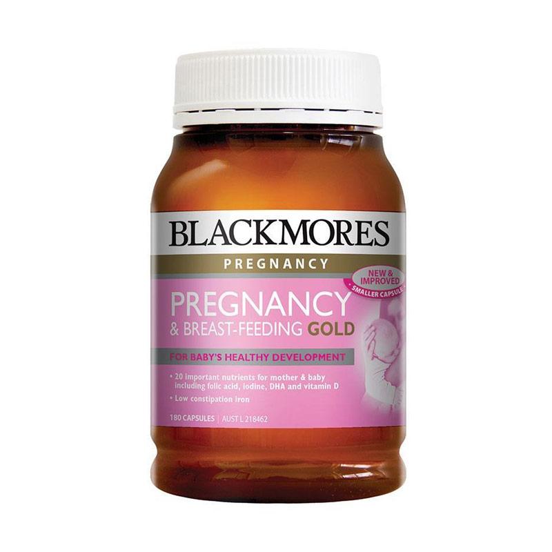 Blackmores Pregnancy and Breastfeeding Gold Multivitamin & Suplemen [180 Caps]