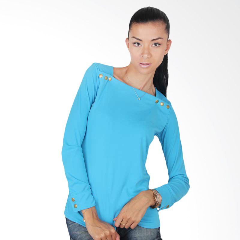 Blaize Cotton Top with Snap Buttons