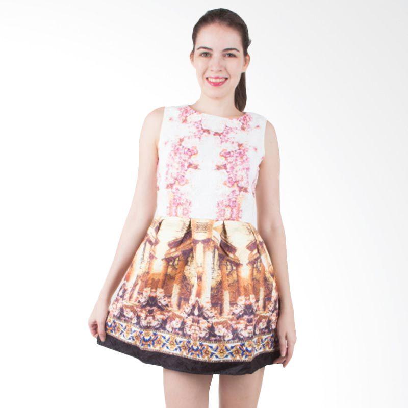 Blaize Enchanted Printed Flare Dress