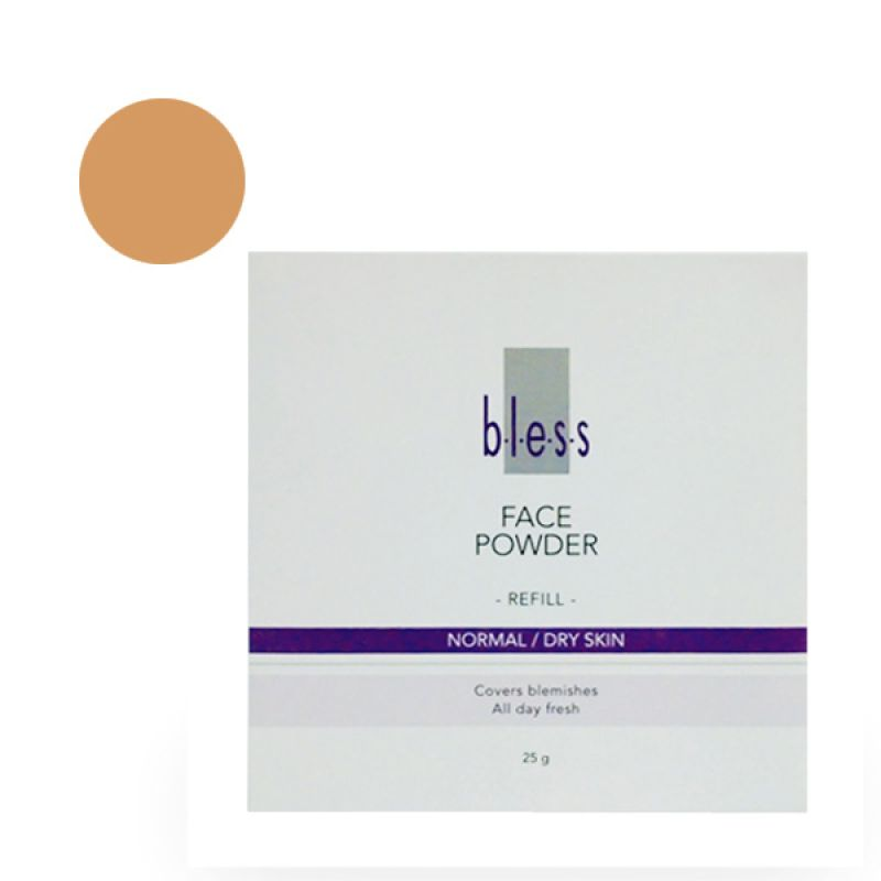 Bless Refill Pack Face Powder Beige