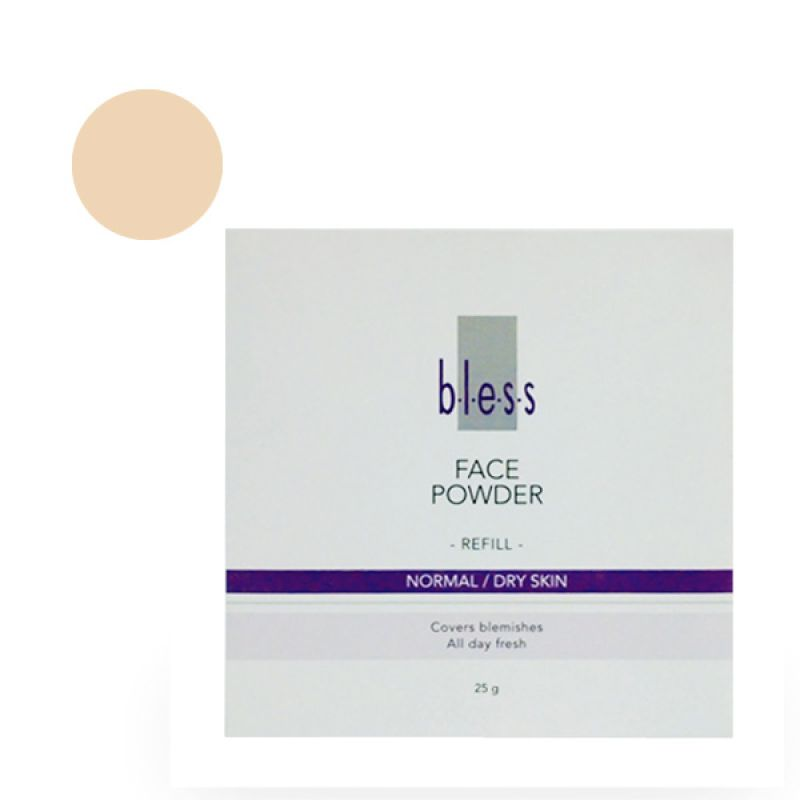 Bless Refill Pack Face Powder Ivory