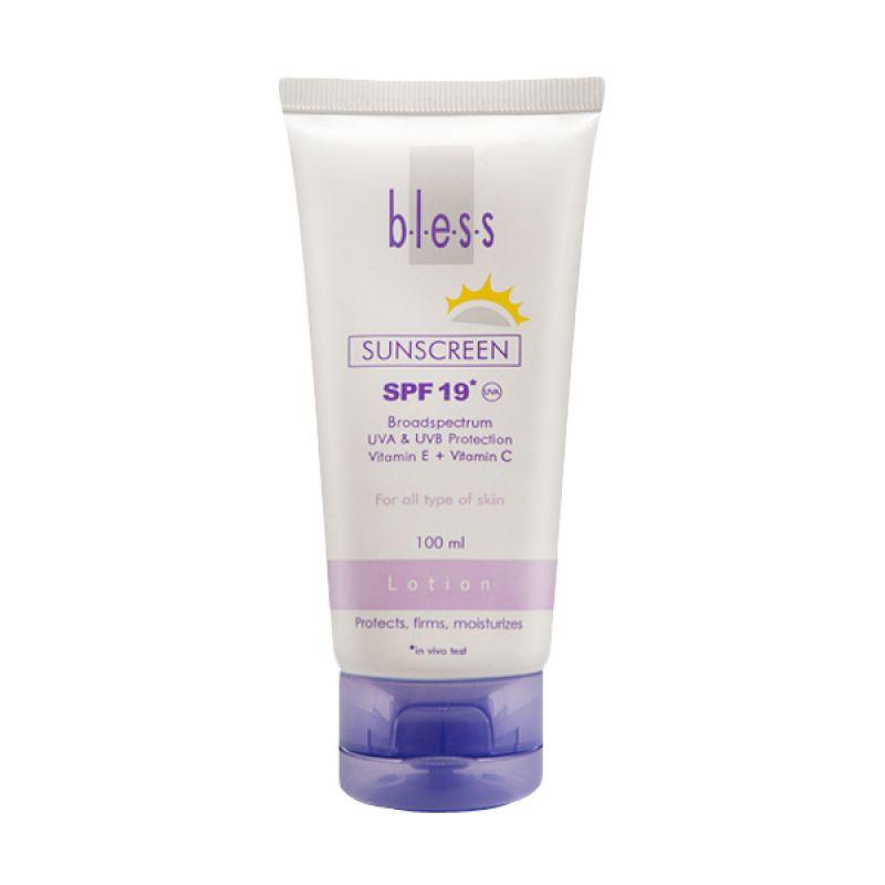 Bless Sunscreen Lotion SPF 19 100 ml