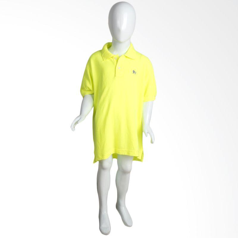 Old Navy Stabillo Polo Yellow Atasan Anak Perempuan