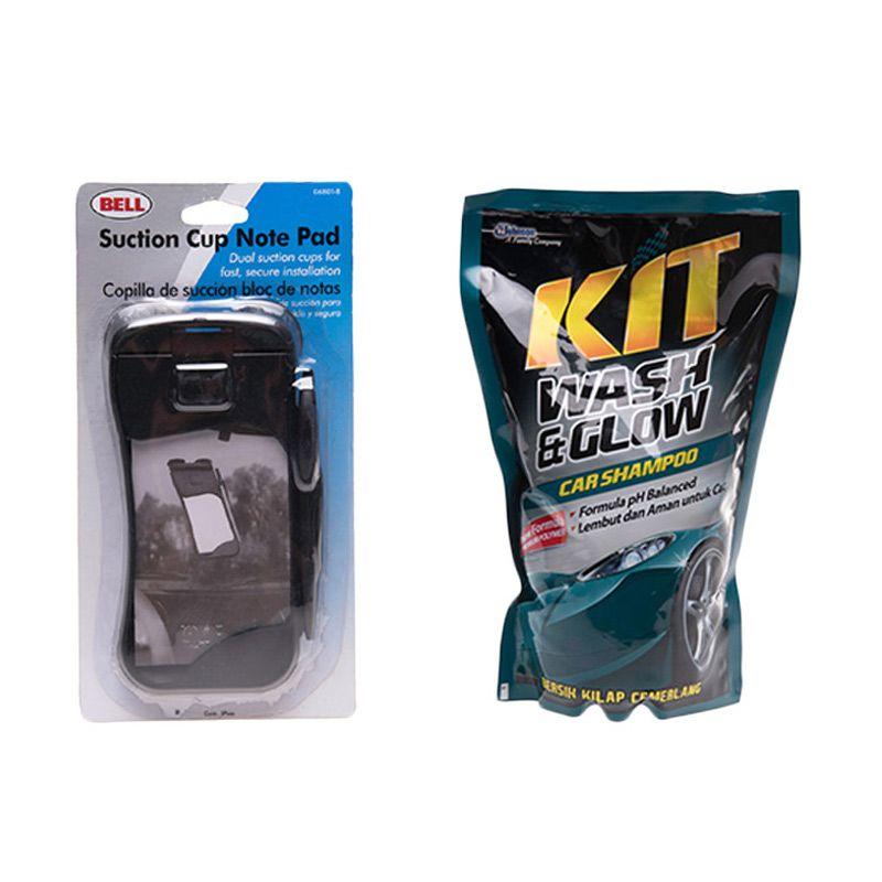 PROMO Bell Curve Design Clipboard [Buy 1 Get 1 FREE KIT Wash & Glow Shampoo 800 mL]