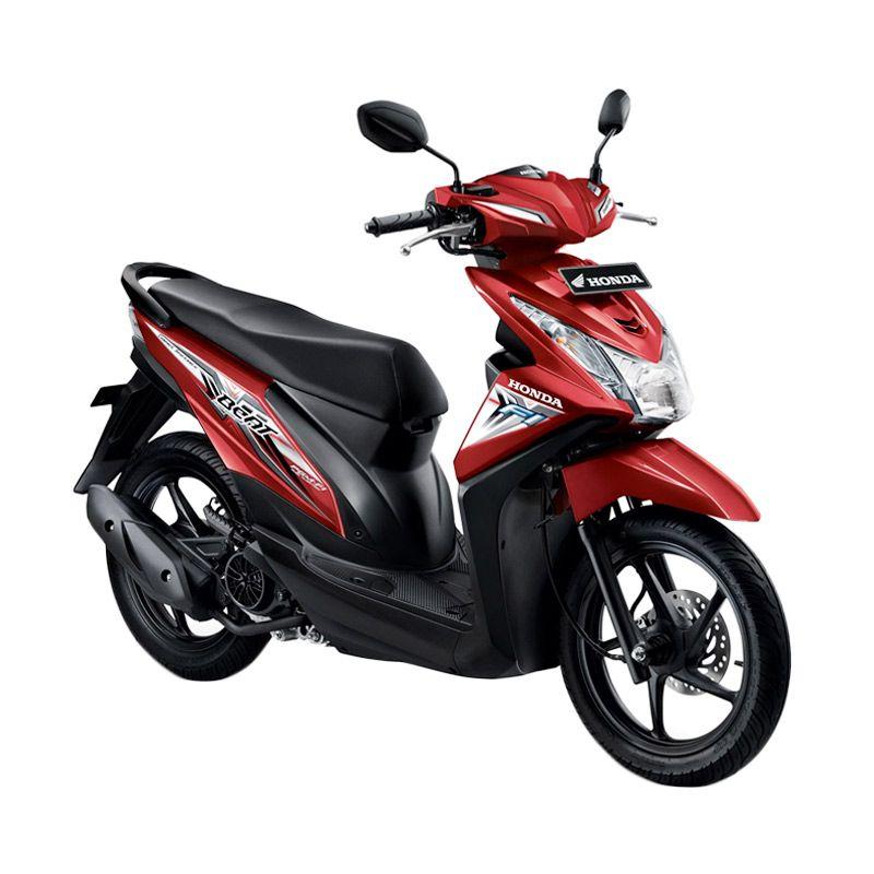 Honda All New BeAT eSP CBS Electro Red Sepeda Motor [DP 3.500.000]