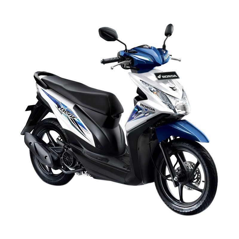 Honda All New BeAT eSP CBS ISS Funk White Sepeda Motor