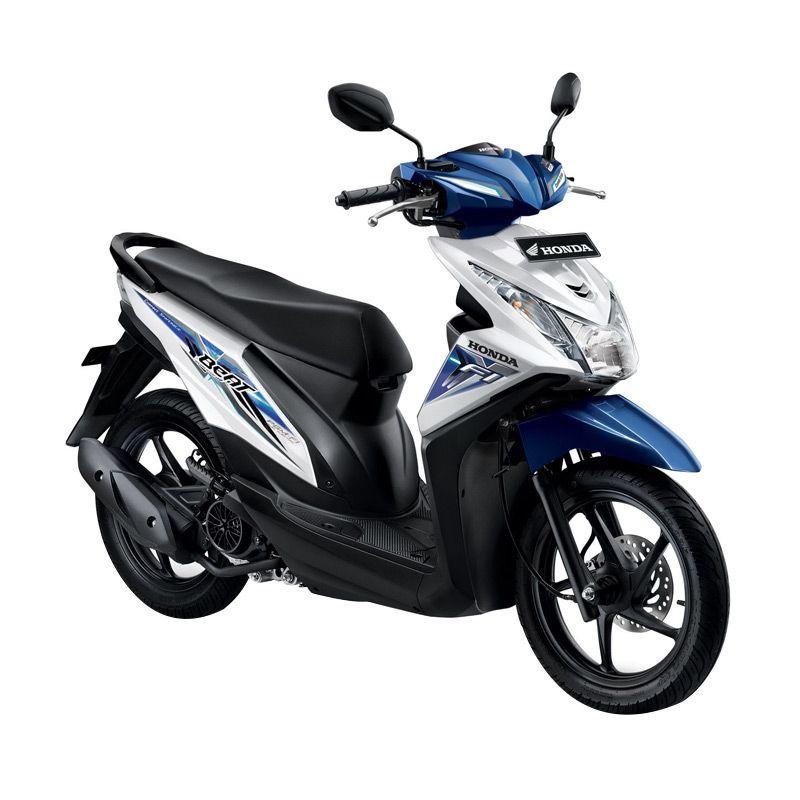 Honda All New BeAT eSP CW Funk White Sepeda Motor [DP 2.500.000]