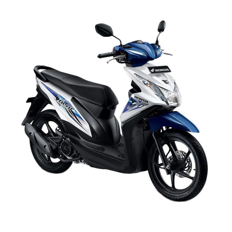 Honda All New BeAT eSP CW Funk White Sepeda Motor [DP 4.000.000]