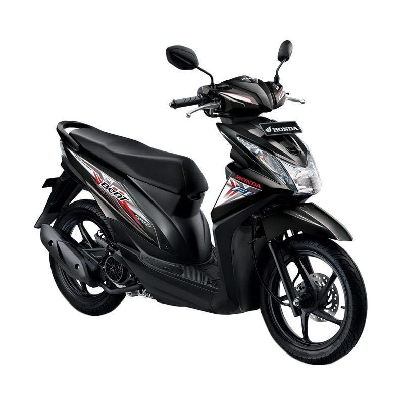 Honda All New BeAT eSP CW Hard Rock Black Sepeda Motor