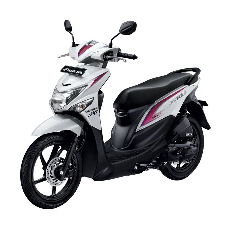 Honda All New BeAT eSP POP CW Harmony White Sepeda Motor [DP 4.500.000]